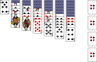 how to play klondike solitaire with a deck of cards