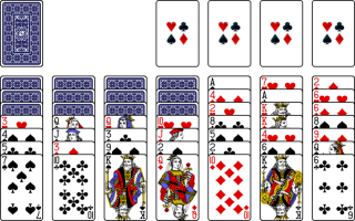 Aces high solitaire