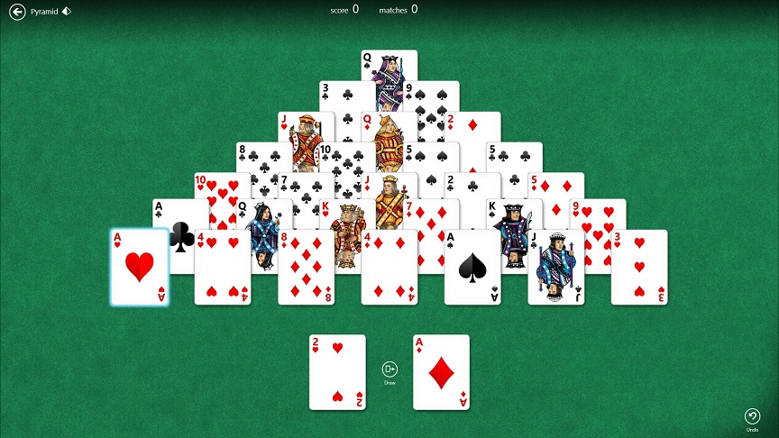 Pyramid Solitaire webofsolitaire