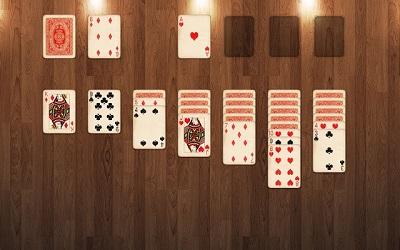 world of solitaire klondike turn one